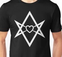 Thelema Heart (Inverse) Unisex T-Shirt