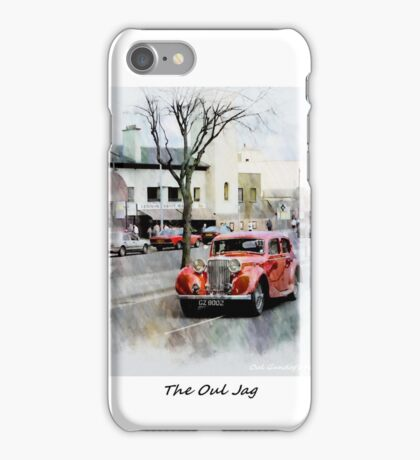 The Oul Jag iPhone Case/Skin