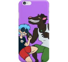 Werewolf Party iPhone Case/Skin