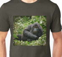 young mountain gorilla, BwindiUganda Unisex T-Shirt