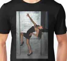 Black Dress Woman Unisex T-Shirt