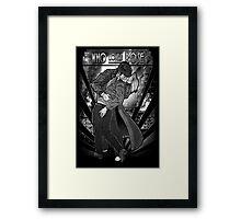 Who Loves Rose - Art Deco Remix Framed Print