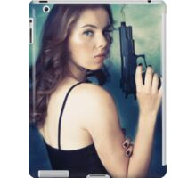 A touch of scarlet iPad Case/Skin