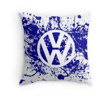 Volkswagen Logo Throw Pillow
