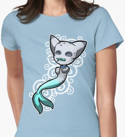 Zodiac Cats - Pisces Womens Fitted T-Shirt
