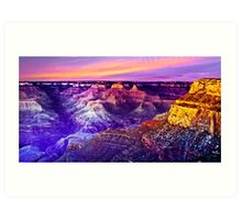 Grand Canyon - Magic Moment Art Print