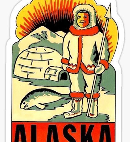 Alaska Inuit State Vintage Travel Decal Sticker