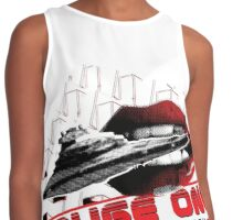 Rouge One, A Spell Check Story Contrast Tank