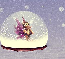 Snow globe with fairy by AnnArtshock