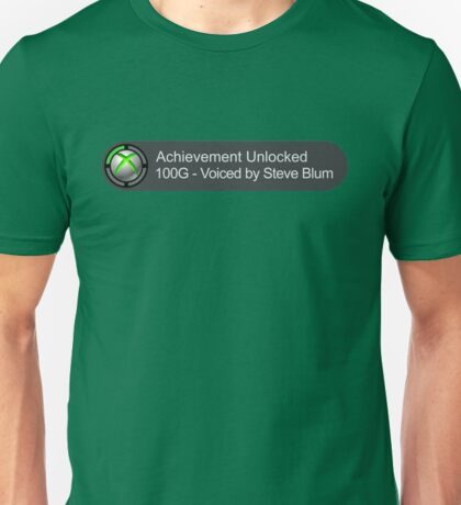 Voiced By Steve Blum Unisex T-Shirt