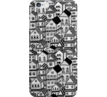 3D Busy Body Houses iPhone Case/Skin