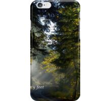 The Light of God iPhone Case/Skin