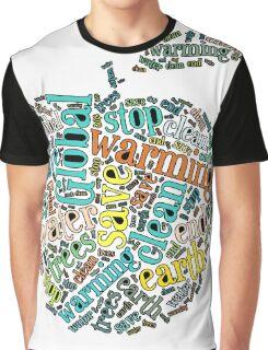 Global Warming Awareness T Shirt Graphic T-Shirt