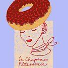 Ooh La La Pastry hat fashionista by SusanSanford