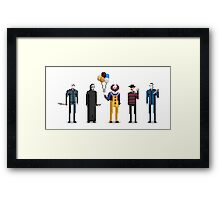 Scary Movies Framed Print