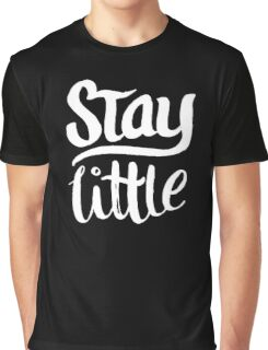 Stay Little - Cute Kids Design - Boys Girls  Graphic T-Shirt