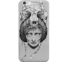 Skull Queen  iPhone Case/Skin