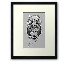 Skull Queen  Framed Print