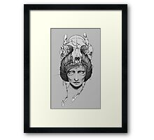 Skull Queen  Framed Print