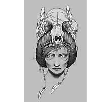 Skull Queen  Photographic Print
