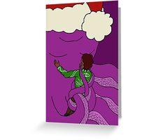 Christmas octopus Greeting Card
