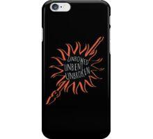 Unbowed, Unbent, Unbroken iPhone Case/Skin