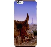 Gargoyle in Paris iPhone Case/Skin