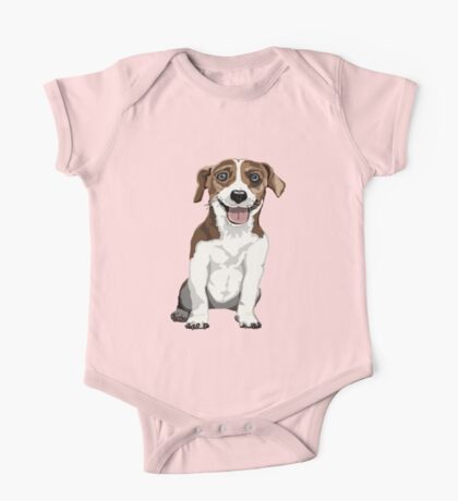 Jack Russell Terrier One Piece - Short Sleeve