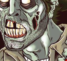 Heeeere's Zombie Rick! Sticker