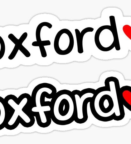 Oxford ❤ Sticker