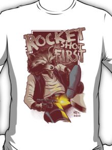 First Shot Parody T-Shirt