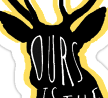 Ours Is The Fury Sticker
