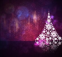Abstract Christmas tree by AnnArtshock