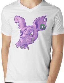 Rat Bastard Bust! Mens V-Neck T-Shirt