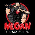 Negan The Savior Man by Vitaliy Klimenko