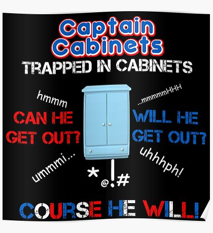Captain Cabinets Poster