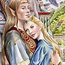 Caught in the moment - elf and human romance by Nicole Cadet
