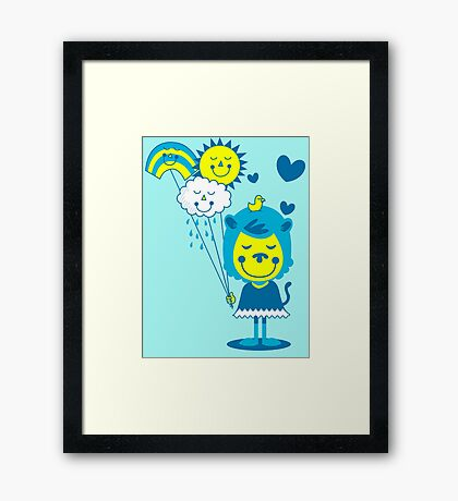 Brighter Day Framed Print