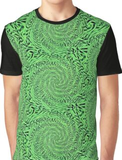 Alien Matrix Graphic T-Shirt