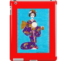 Geisha Doll iPad Case/Skin