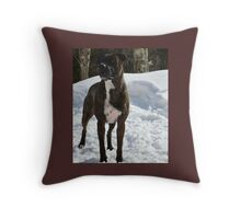 Rescue Pup Throw Pillow