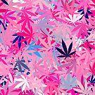 Marijuana Cannabis Weed Pot Island Colors by MarijuanaTshirt