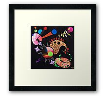 Bacon and Bubbles Framed Print