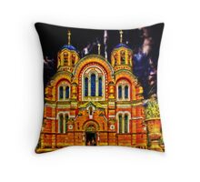 St Volodymyr's Cathedral Throw Pillow