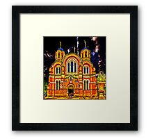 St Volodymyr's Cathedral Framed Print