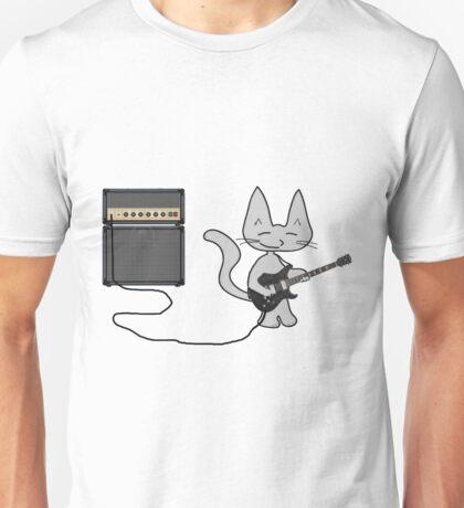 "Rock ""n"" Roll Kitty  Unisex T-Shirt"
