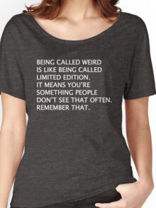 English Limited Edition Saying Quote Funny Novelty Women's Relaxed Fit T-Shirt