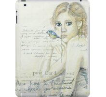 A touch of Vintage iPad Case/Skin
