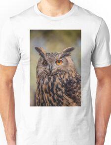 Eurasian Eagle Owl Vertical Unisex T-Shirt