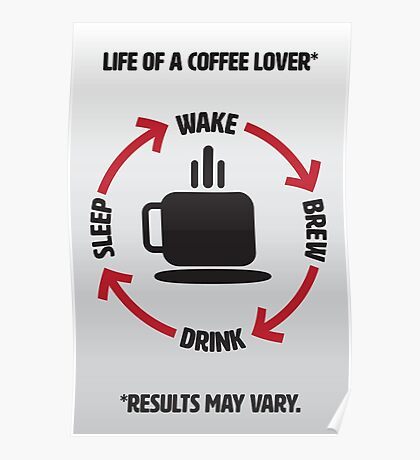 Coffee Lover Infographic Poster